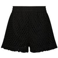 Picture of MonnaLisa 177406 kids shorts black