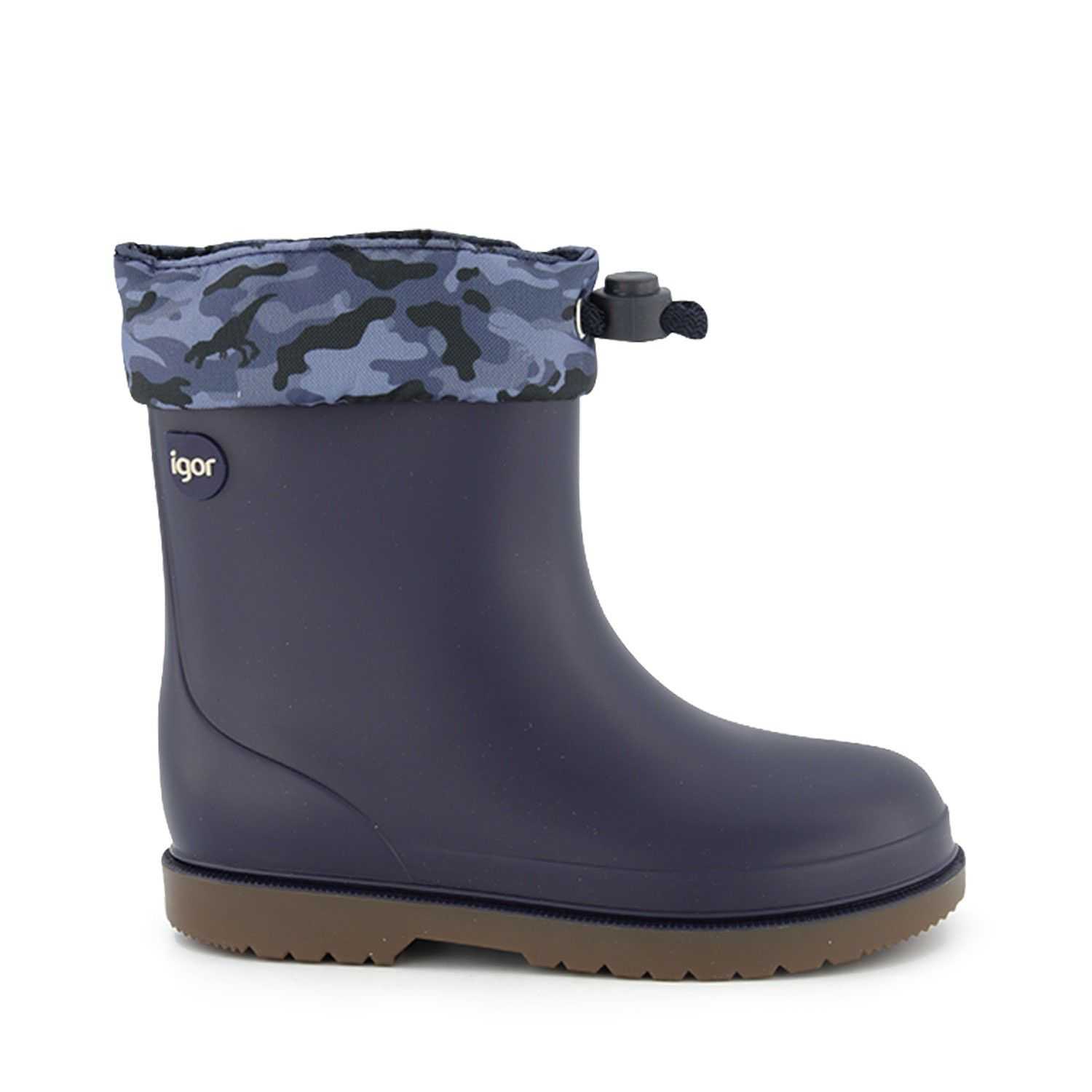 Picture of Igor W10212 kids boots navy