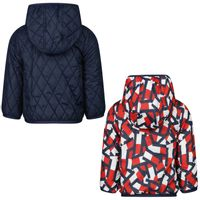 Picture of Tommy Hilfiger KN0KN01246 baby coat navy