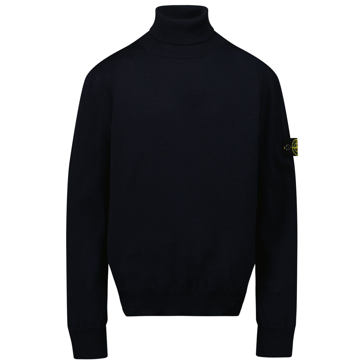 Picture of Stone Island 517A4 kids sweater navy