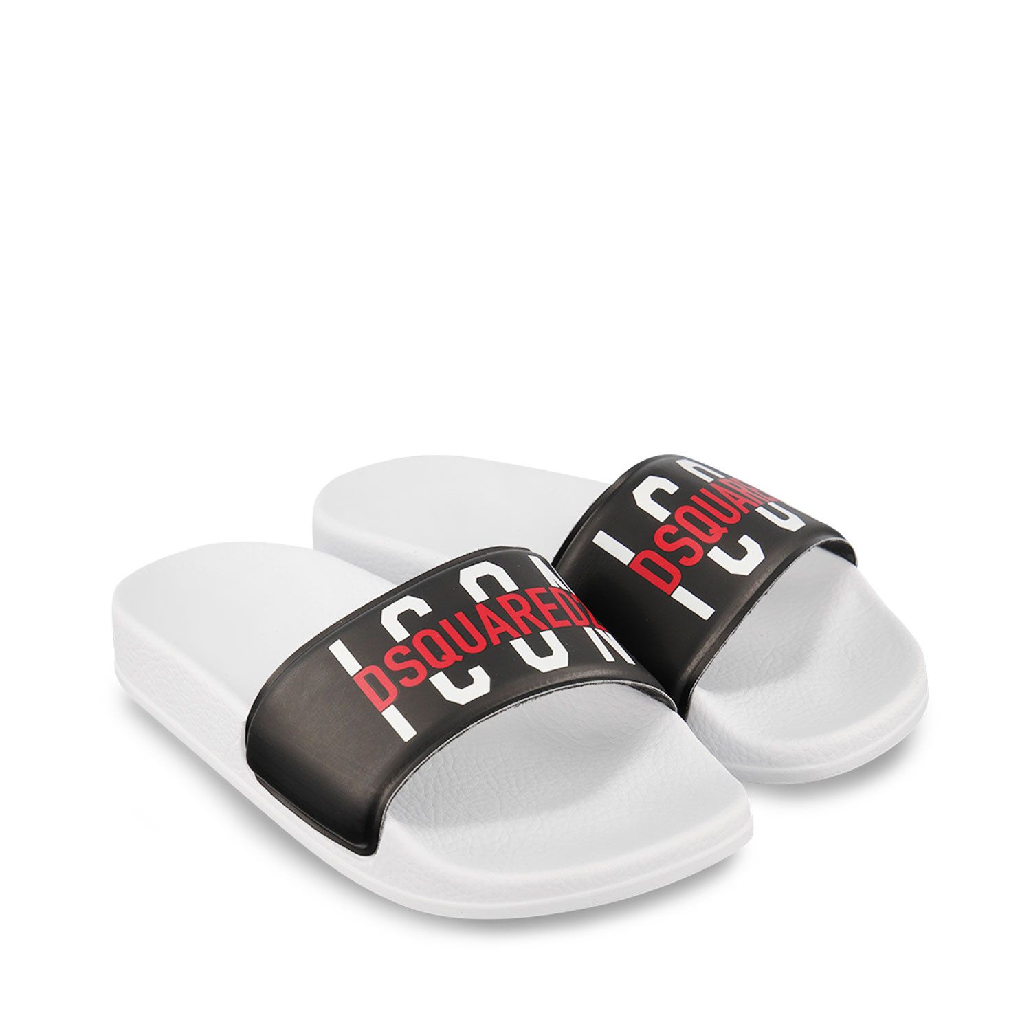 Picture of Dsquared2 DQ0331 kids flipflops black