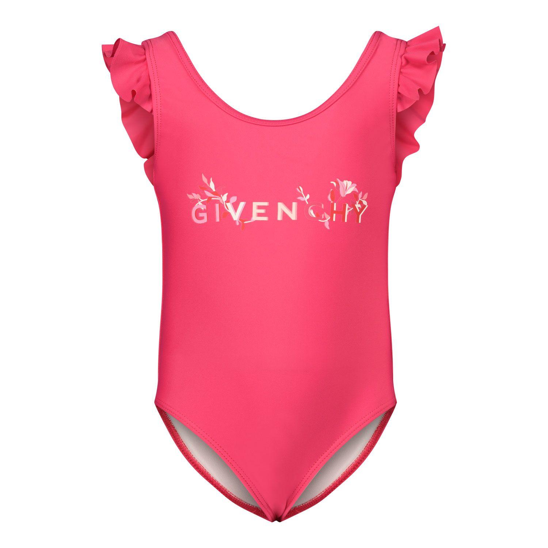 Afbeelding van Givenchy H00040 baby badkleding fuchsia
