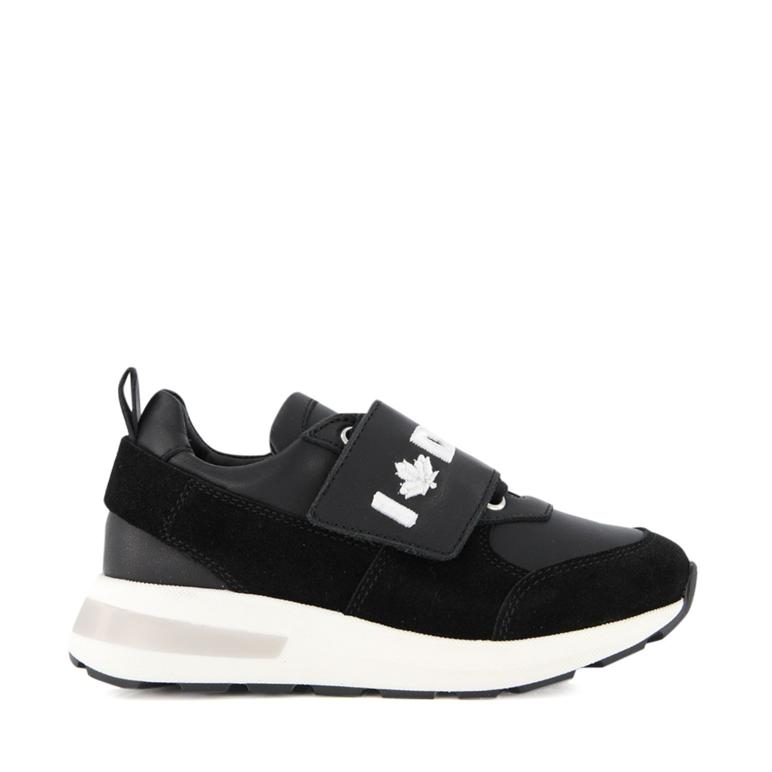 Picture of Dsquared2 65125 kids sneakers black