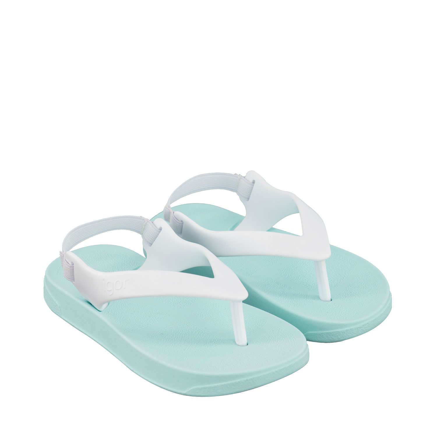 Picture of Igor S10266 kids flipflops white