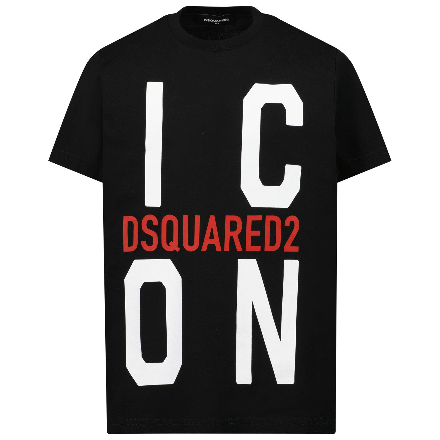 Picture of Dsquared2 DQ0243 kids t-shirt black