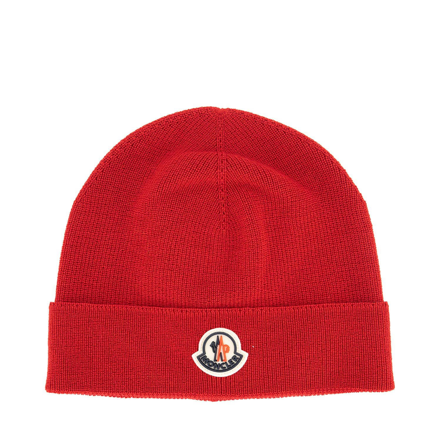 Picture of Moncler 9Z73100 kids hat red