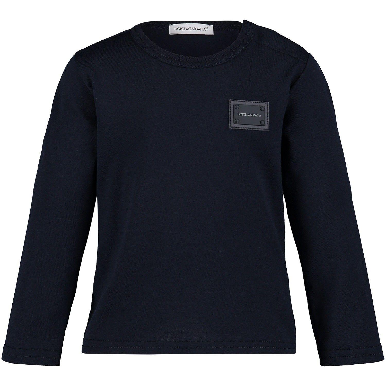 Bild von Dolce & Gabbana L1JT7M G7OLK Baby-T-Shirt Marine