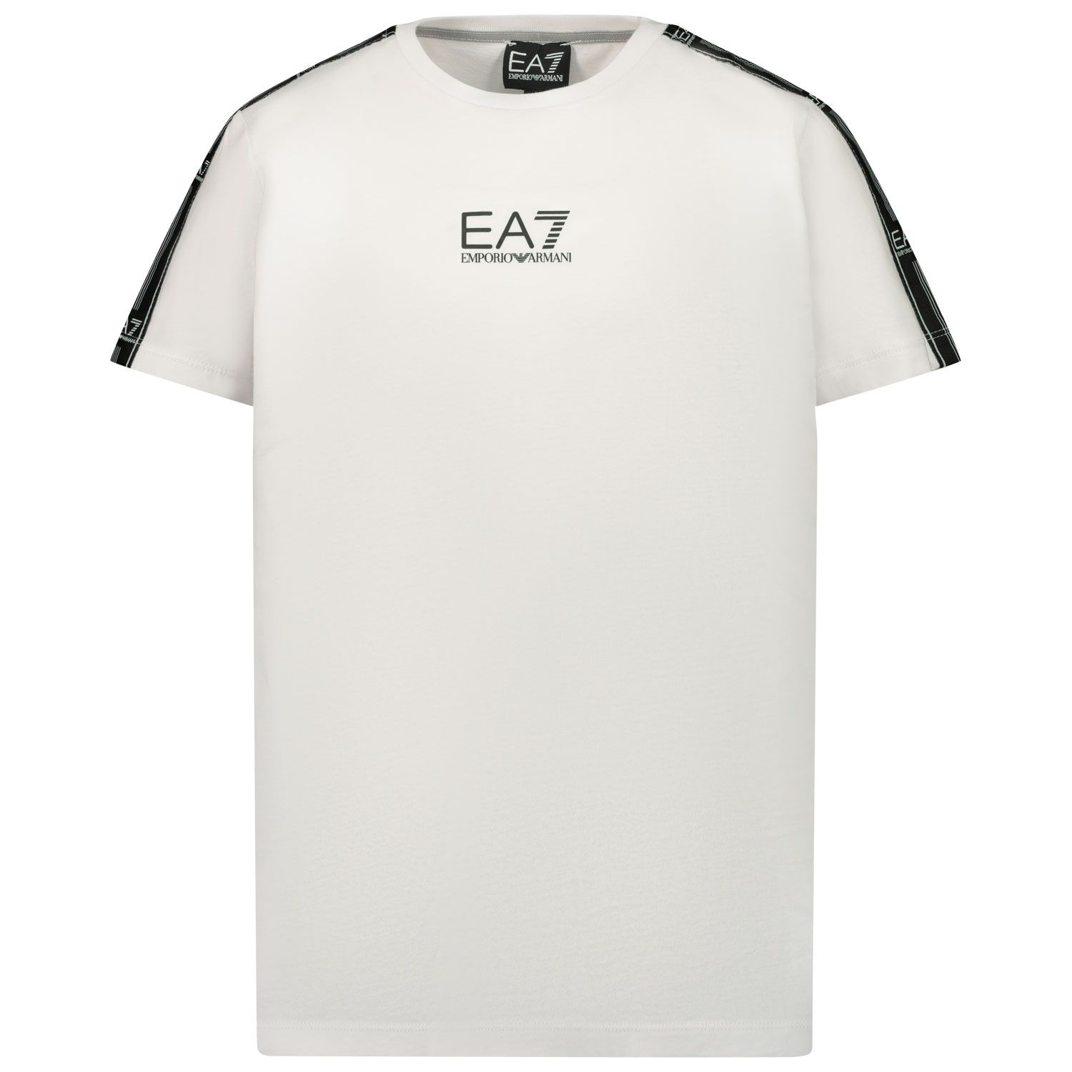 Picture of EA7 3KBT55 kids t-shirt white