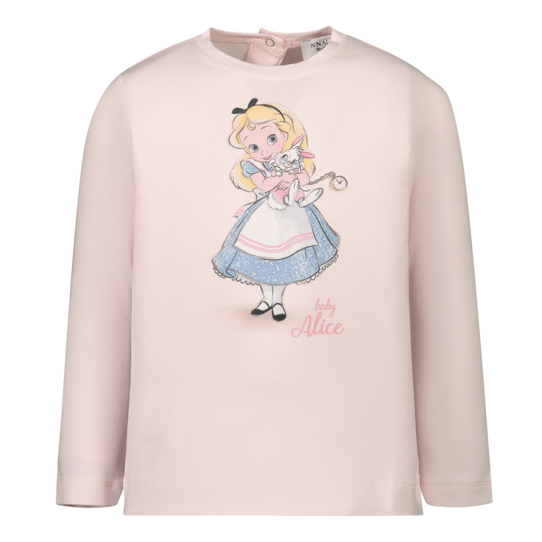 Picture of MonnaLisa 396619P5 baby shirt light pink