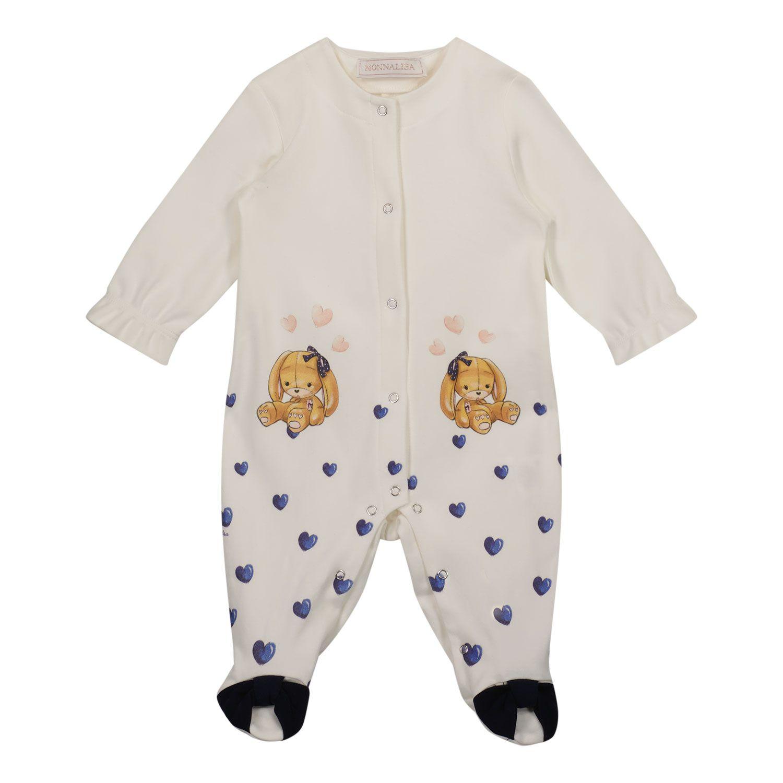 Bild von MonnaLisa 358215PK Babystrampelanzug Creme