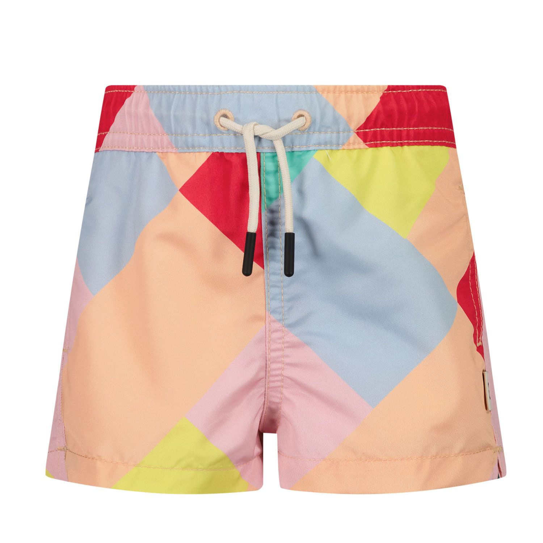 Picture of SEABASS SWIMSHORT B baby swimwear light pink