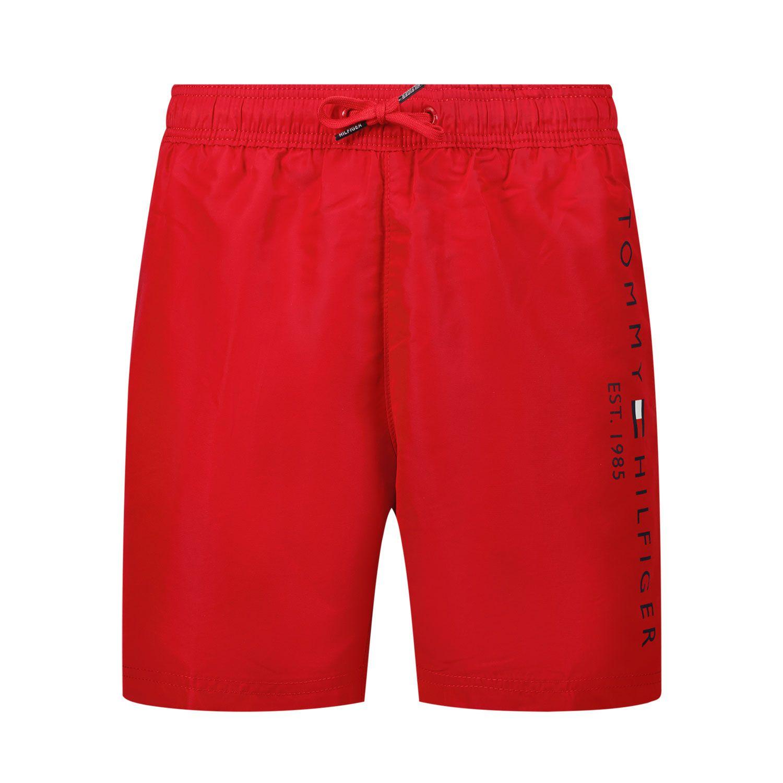Bild von Tommy Hilfiger UB0UB00378 Kinderschwimmbekleidung Rot