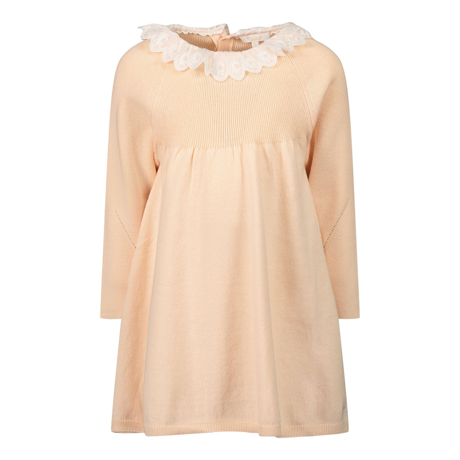 Picture of Chloé C00274 baby dress light pink