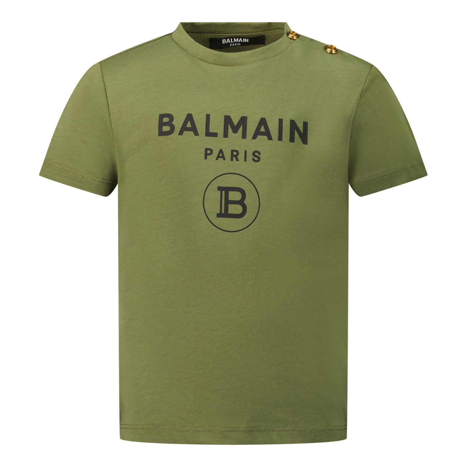 Picture of Balmain 6P8A91 baby shirt army