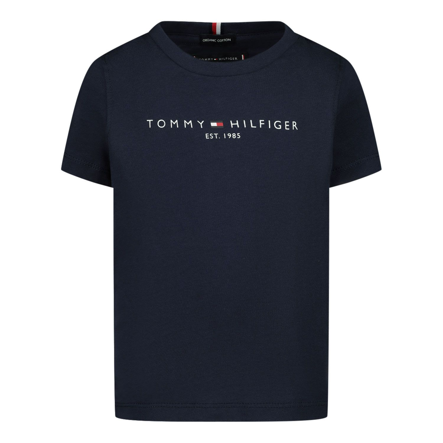 Picture of Tommy Hilfiger KB0KB05844B baby shirt navy