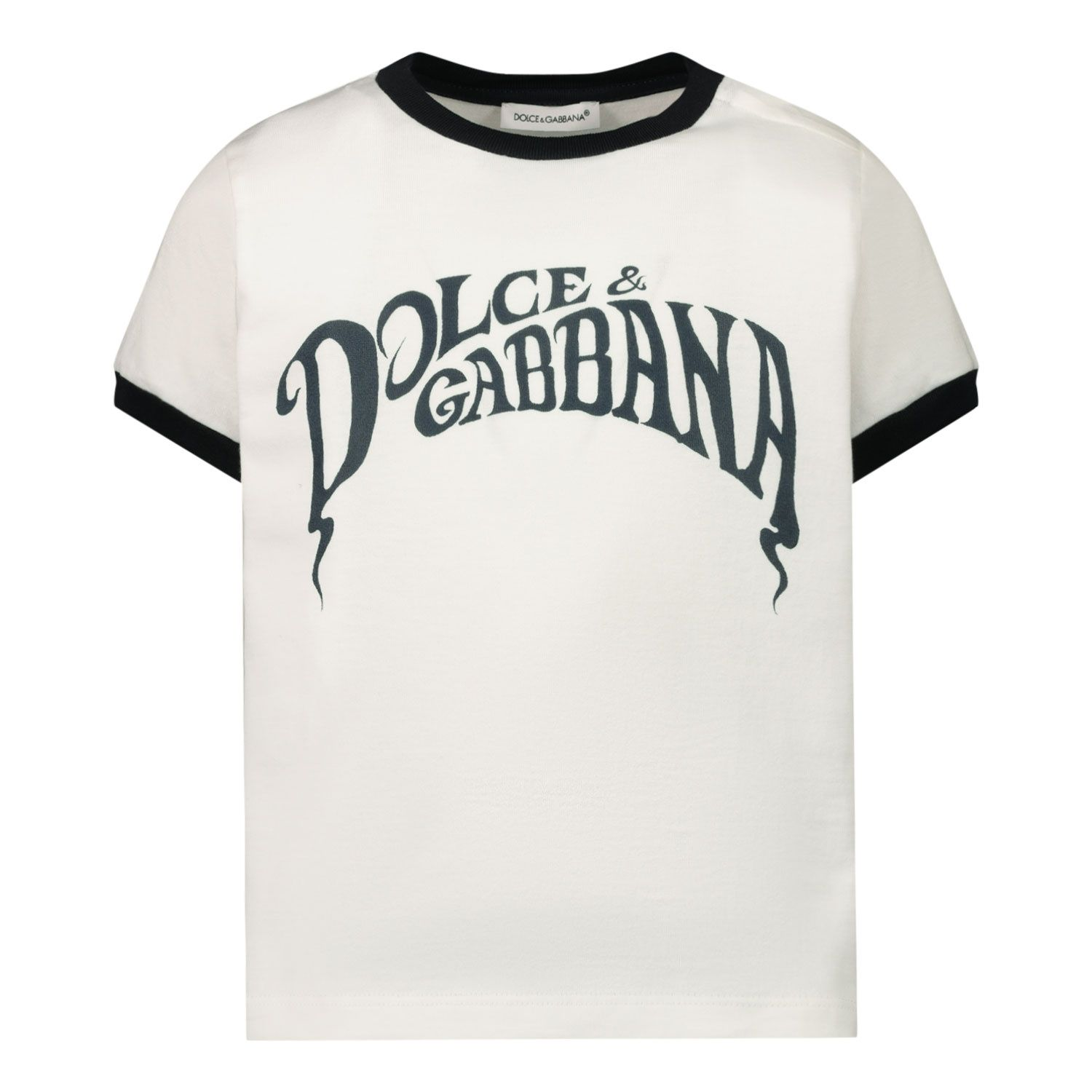 Picture of Dolce & Gabbana L1JT6M G7WRU baby shirt white