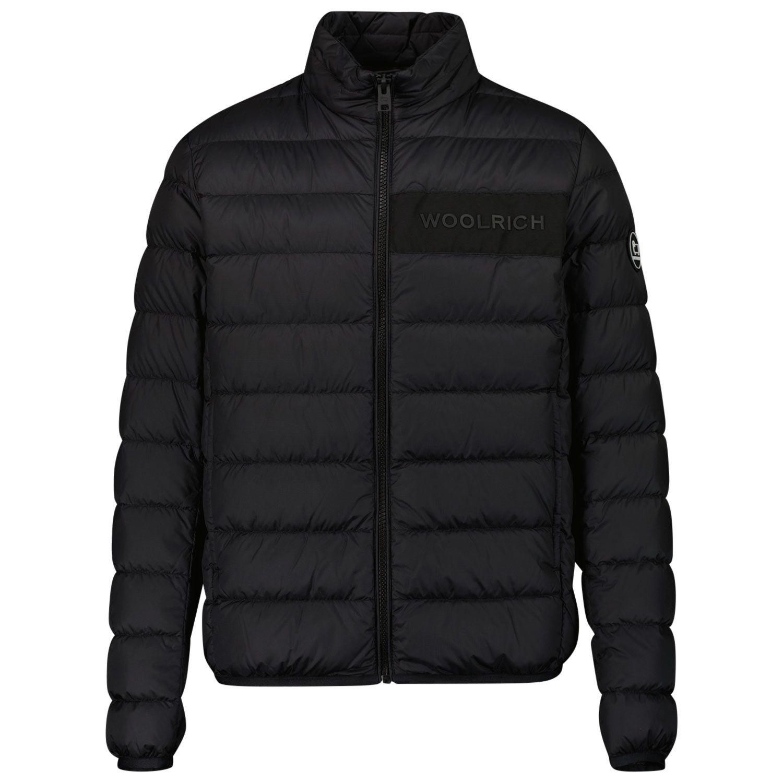 Picture of Woolrich CFWKOU0204 kids jacket black