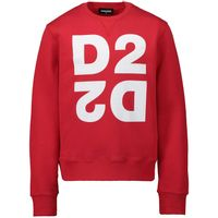 Picture of Dsquared2 DQ041Q kids sweater red