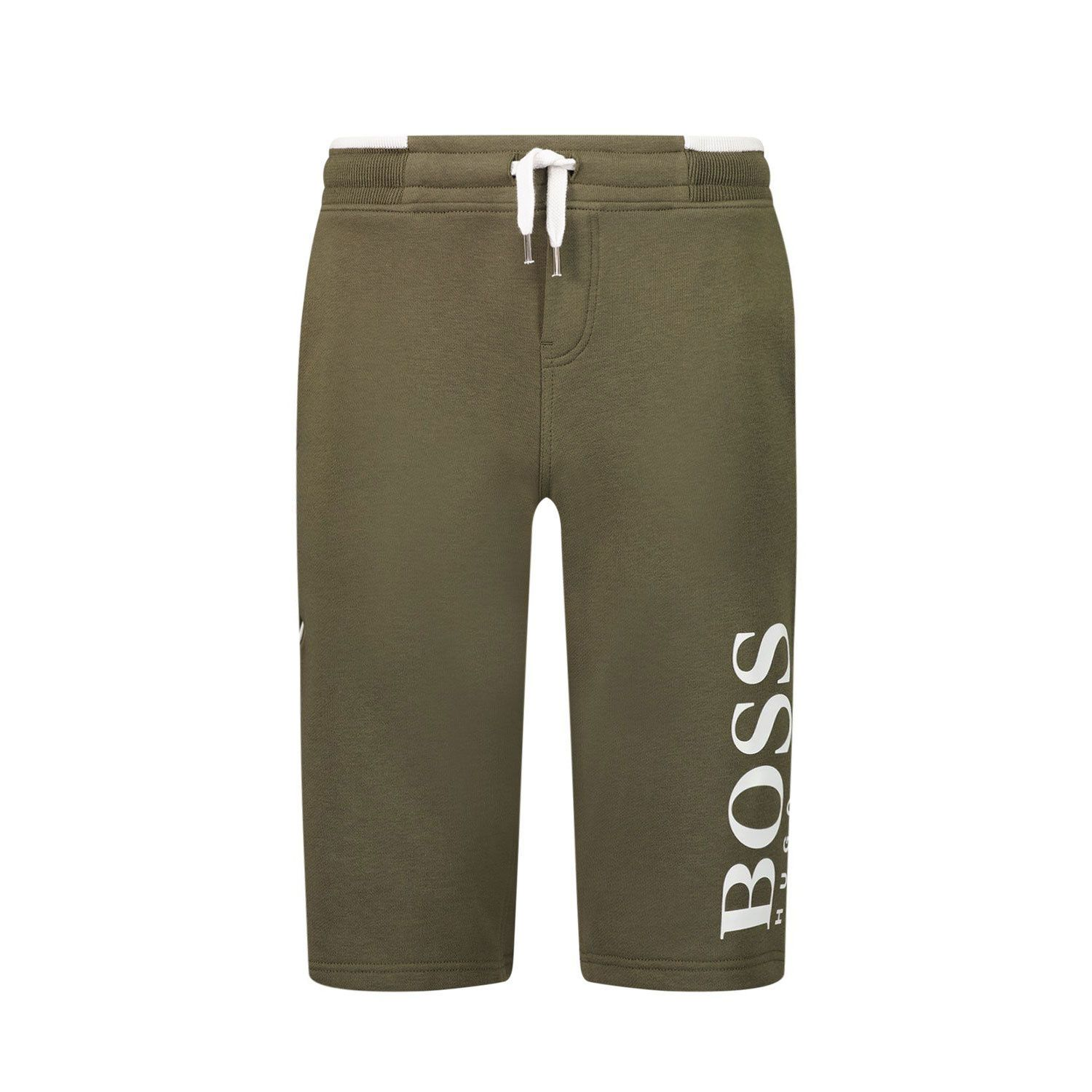 Picture of Boss J24M28 kids shorts army