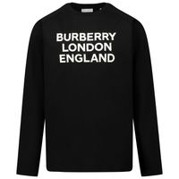 Picture of Burberry 8031662 kids t-shirt black