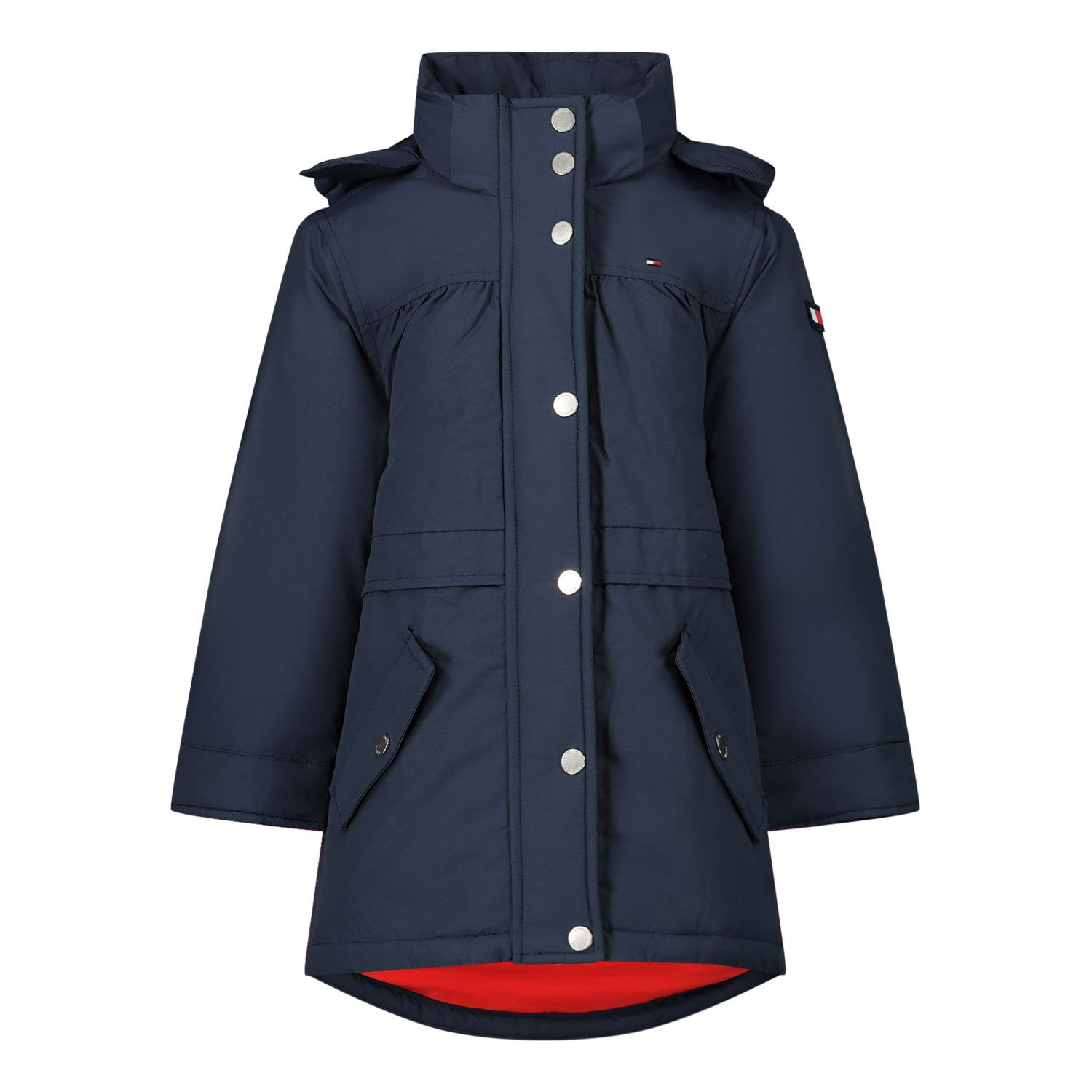 Picture of Tommy Hilfiger KG0KG05269B baby coat navy