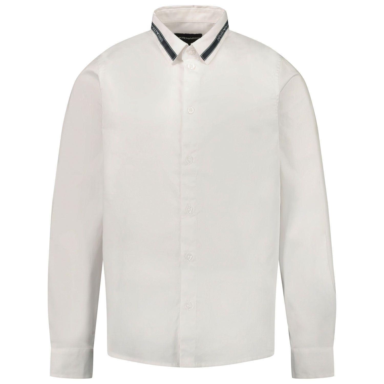 Bild von Armani 6H4CA6 Kinderhemd Weiß