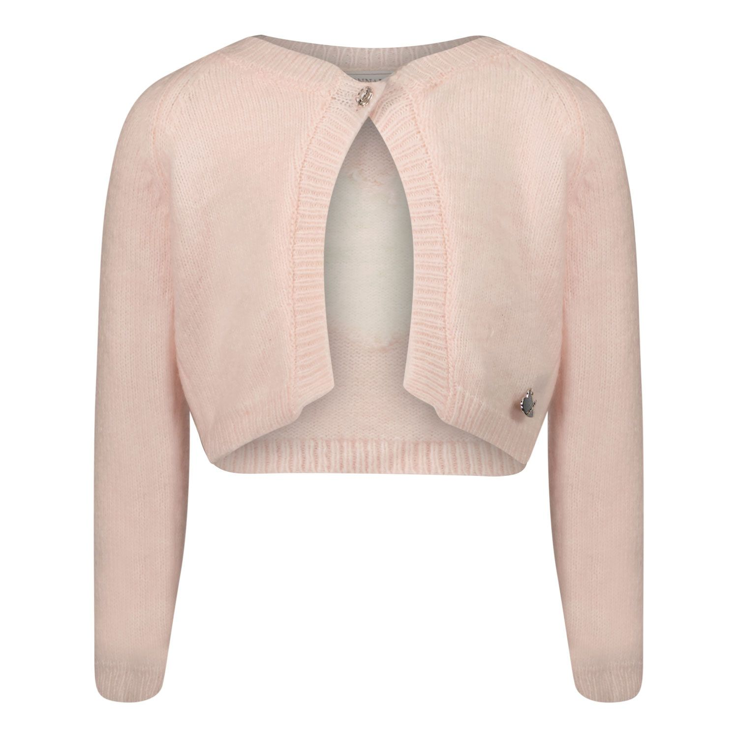 Picture of MonnaLisa 398805 baby vest light pink