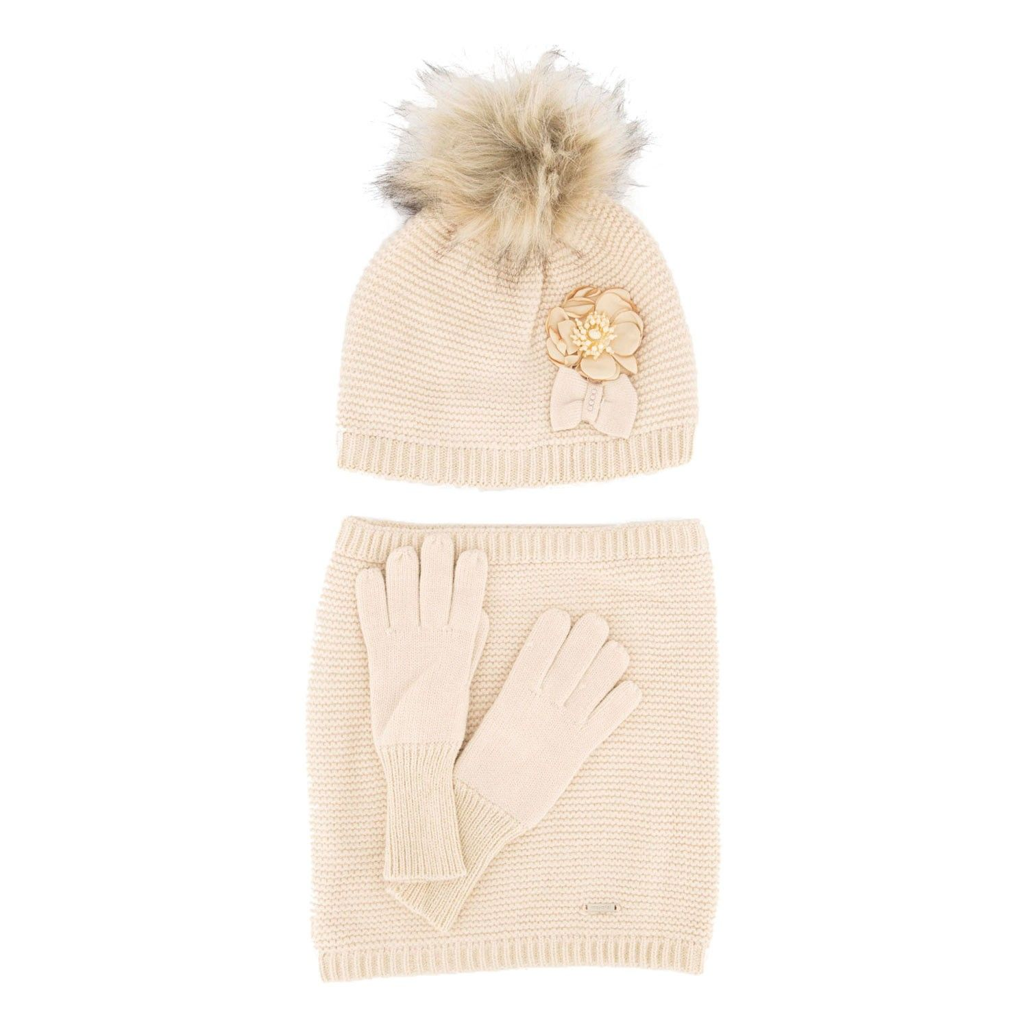 Picture of Mayoral 10699 kids hat gold
