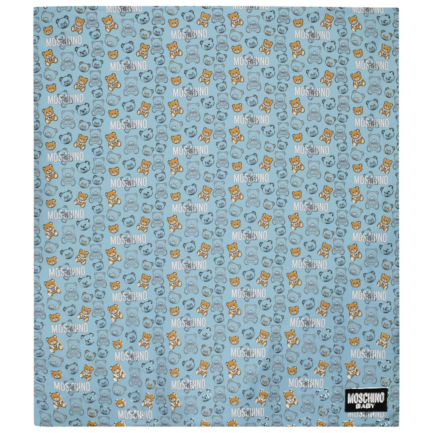 Picture of Moschino MUB007 baby accessory light blue