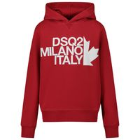 Picture of Dsquared2 DQ049N kids sweater red