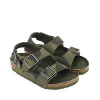 Picture of Birkenstock 1014590 kids sandals army