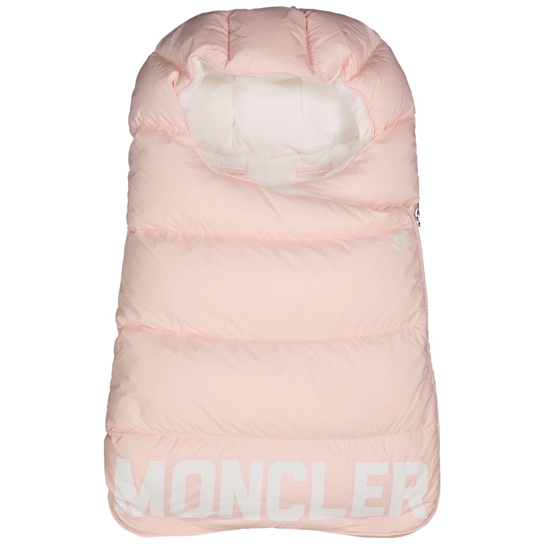 Afbeelding van Moncler 1G51802 babyaccessoire licht roze