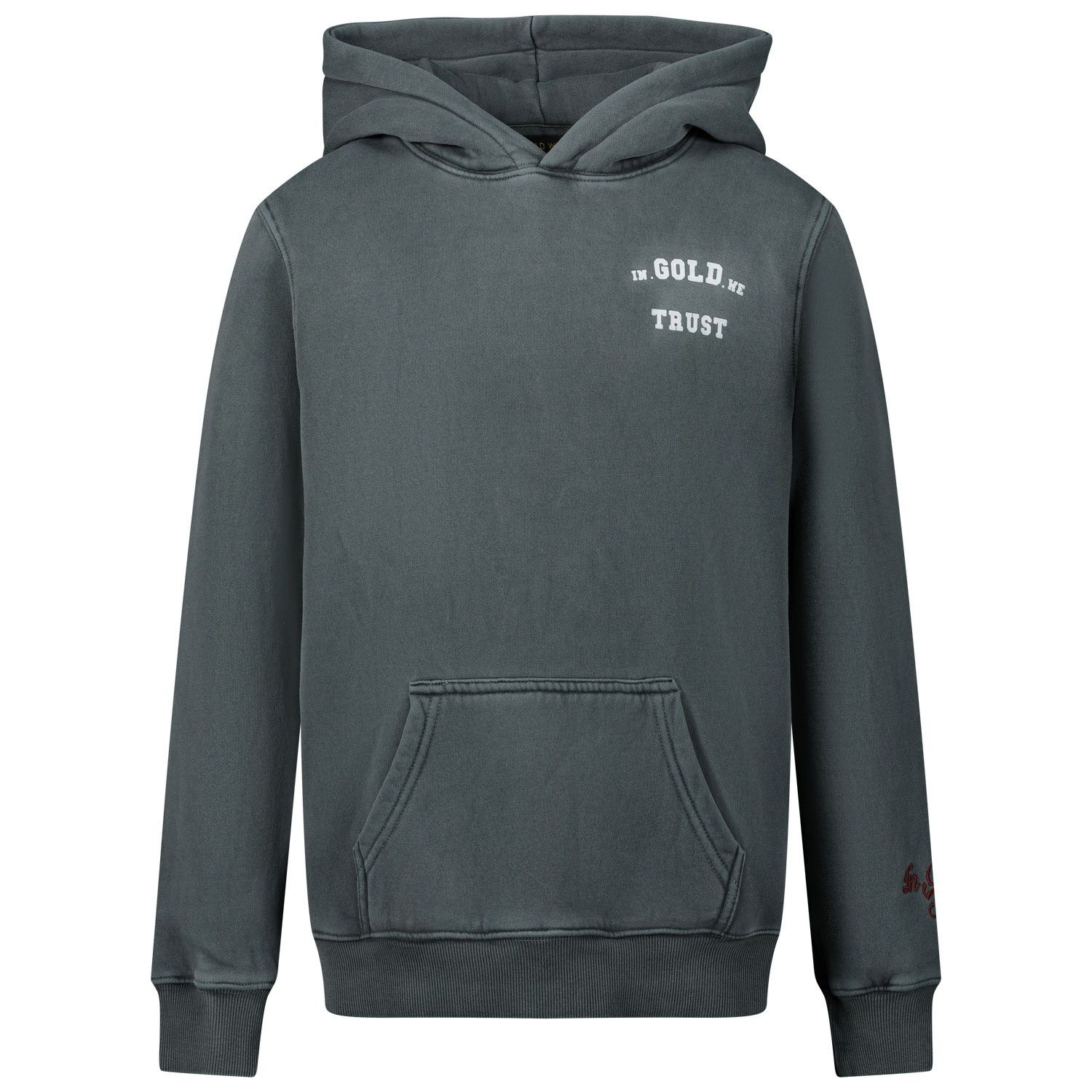 Bild von In Gold We Trust THE UGK HOODIE Kinderpullover Petroleum