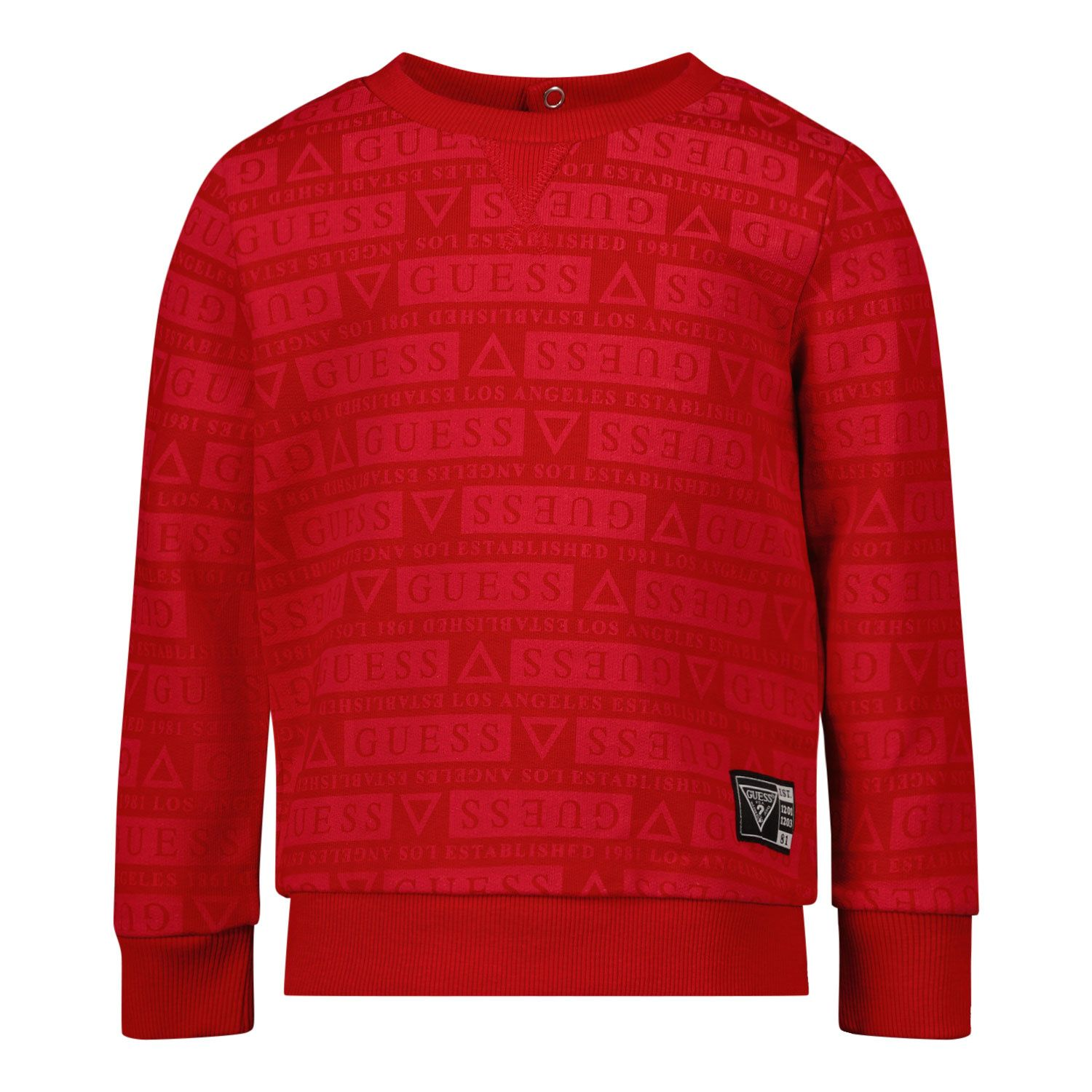 Picture of Guess NiYQ00 baby sweater red