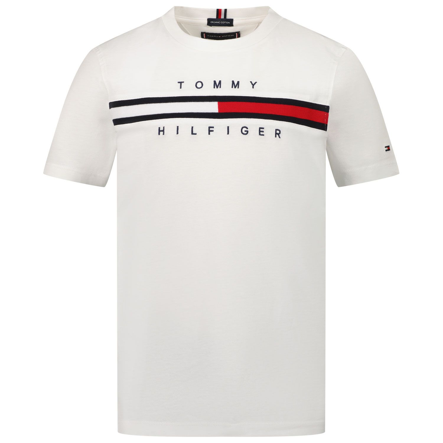 Picture of Tommy Hilfiger KB0KB06532 kids t-shirt white