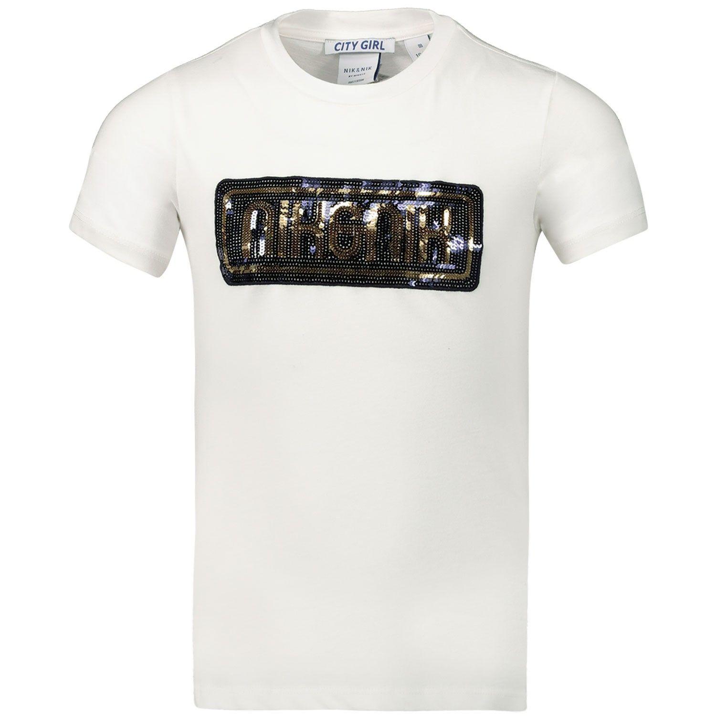Afbeelding van NIK&NIK G8123 kinder t-shirt off white