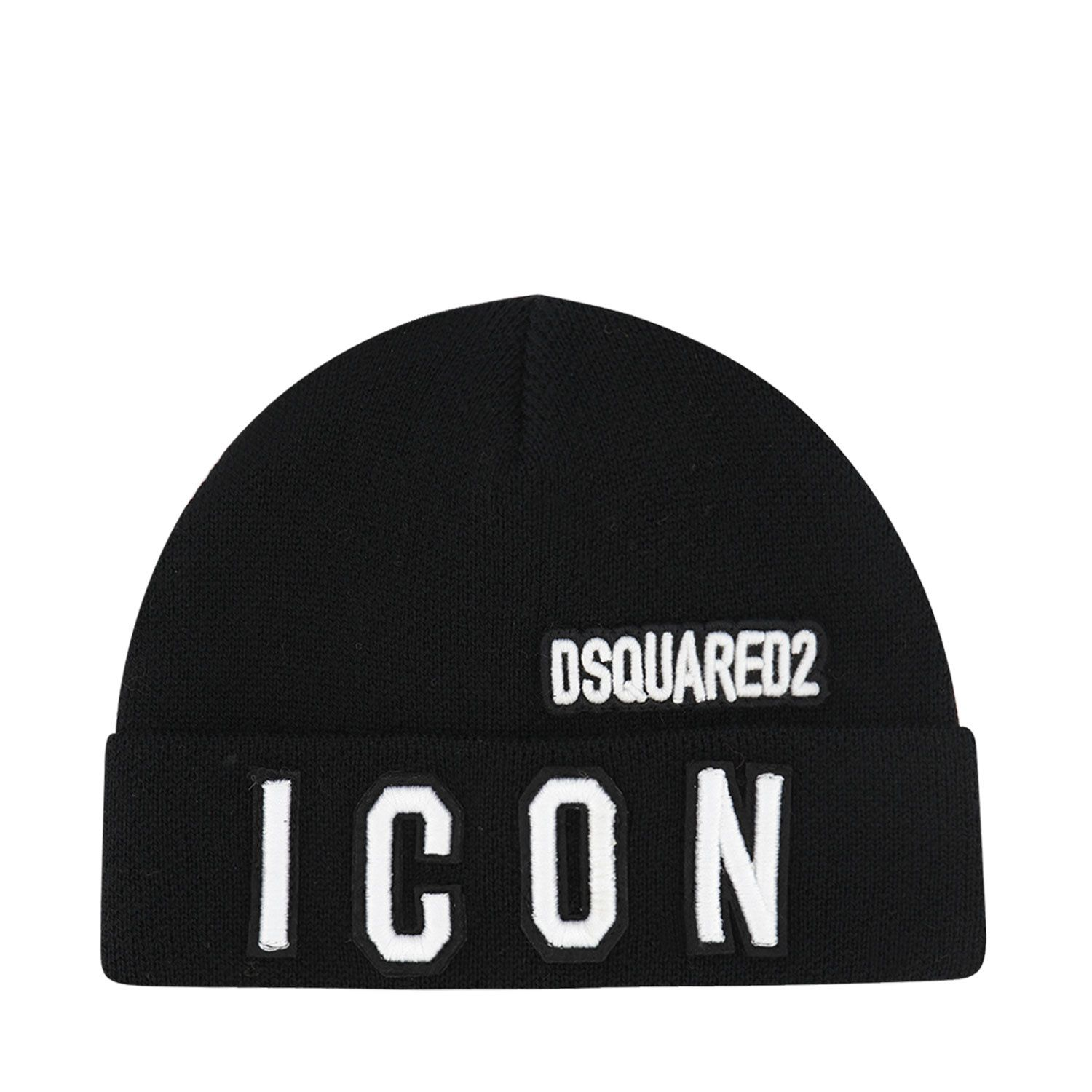 Picture of Dsquared2 DQ04IE baby hat black