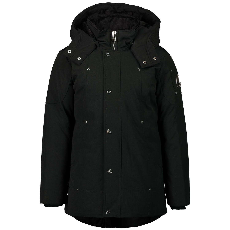 Picture of Moose Knuckles M39UP231N kids jacket black