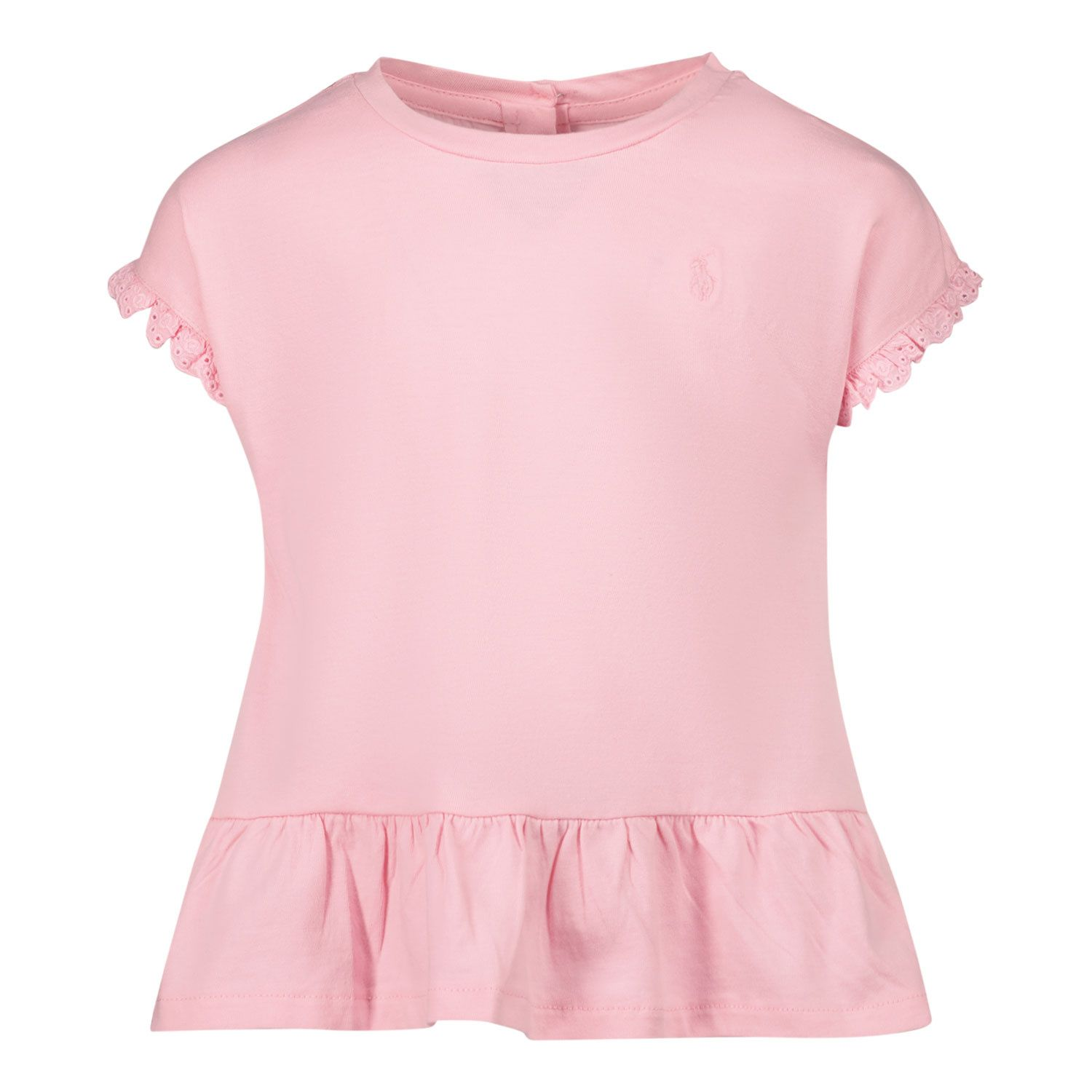 Picture of Ralph Lauren 310835111 baby shirt pink
