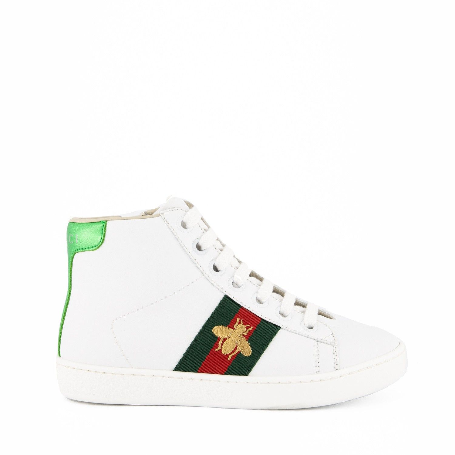 Picture of Gucci 526167 kids sneakers white