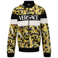 Picture of Versace 1000441 1A01376 kids vest gold