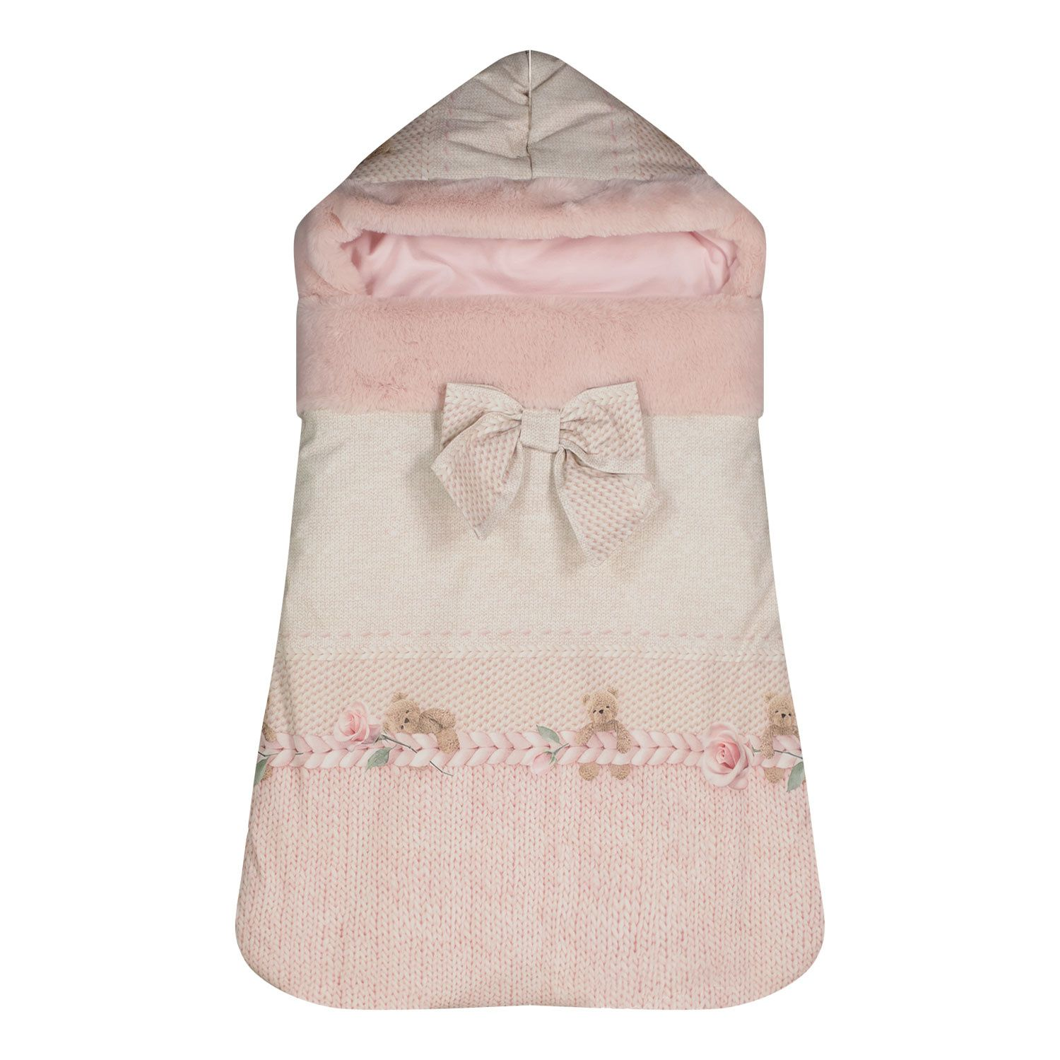 Picture of Lapin 21255222 baby accessory light pink
