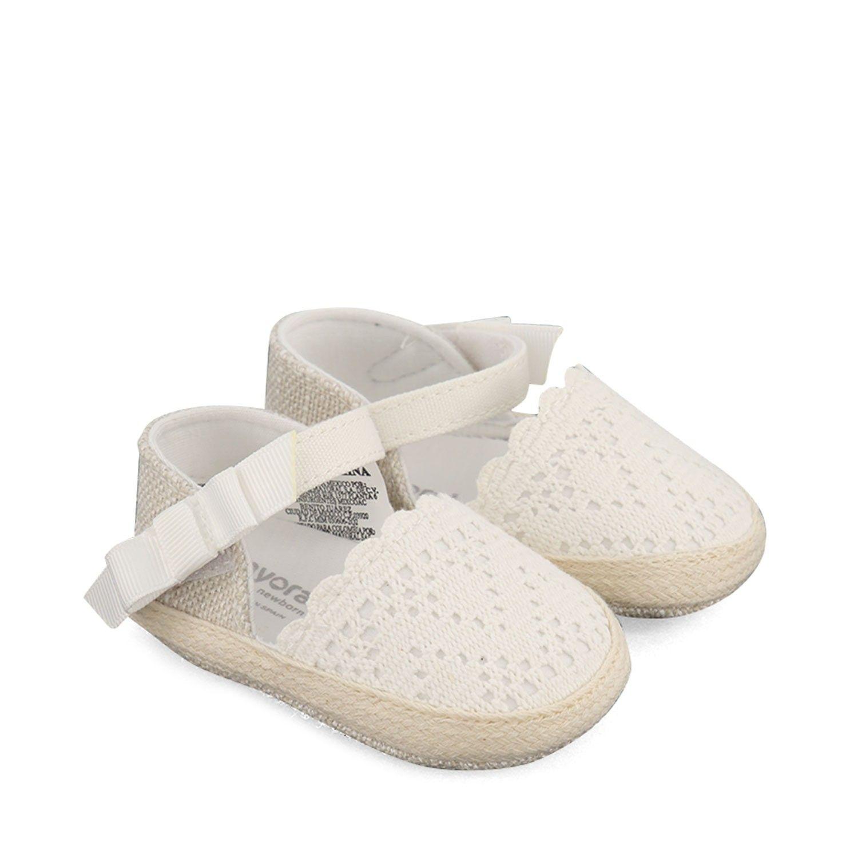 Afbeelding van Mayoral 9291 babyschoenen wit