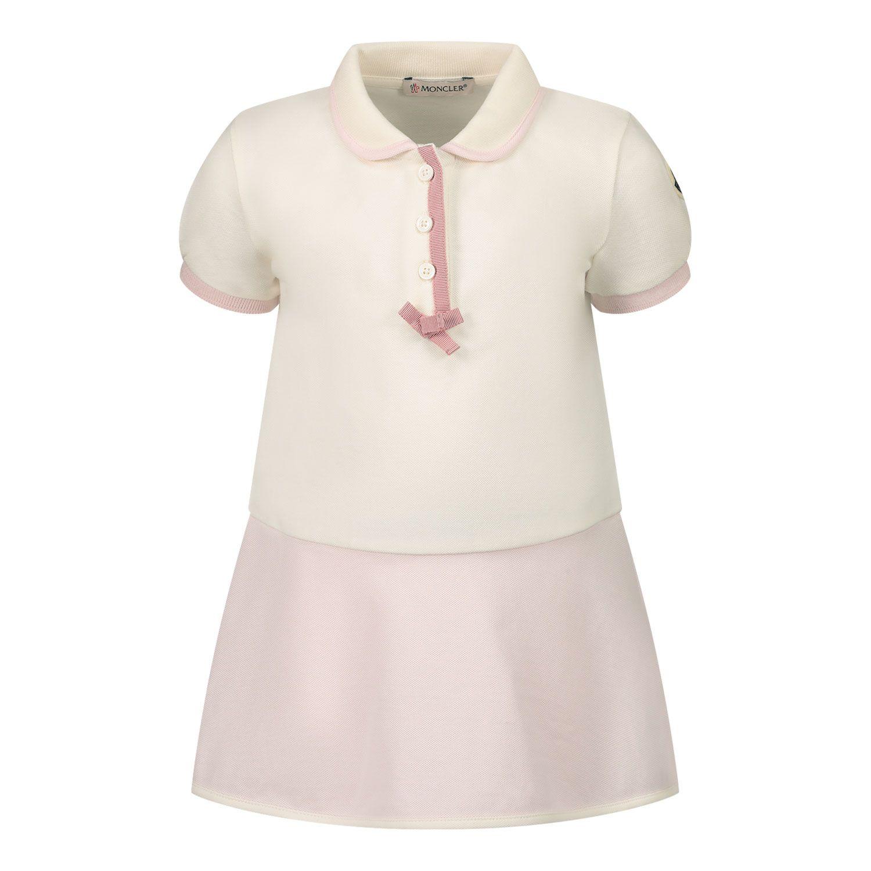 Bild von Moncler 8I70010 Babykleid Creme
