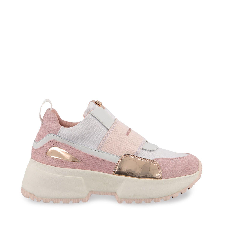 Picture of Michael Kors ZIACOSMOROUEN kids sneakers light pink