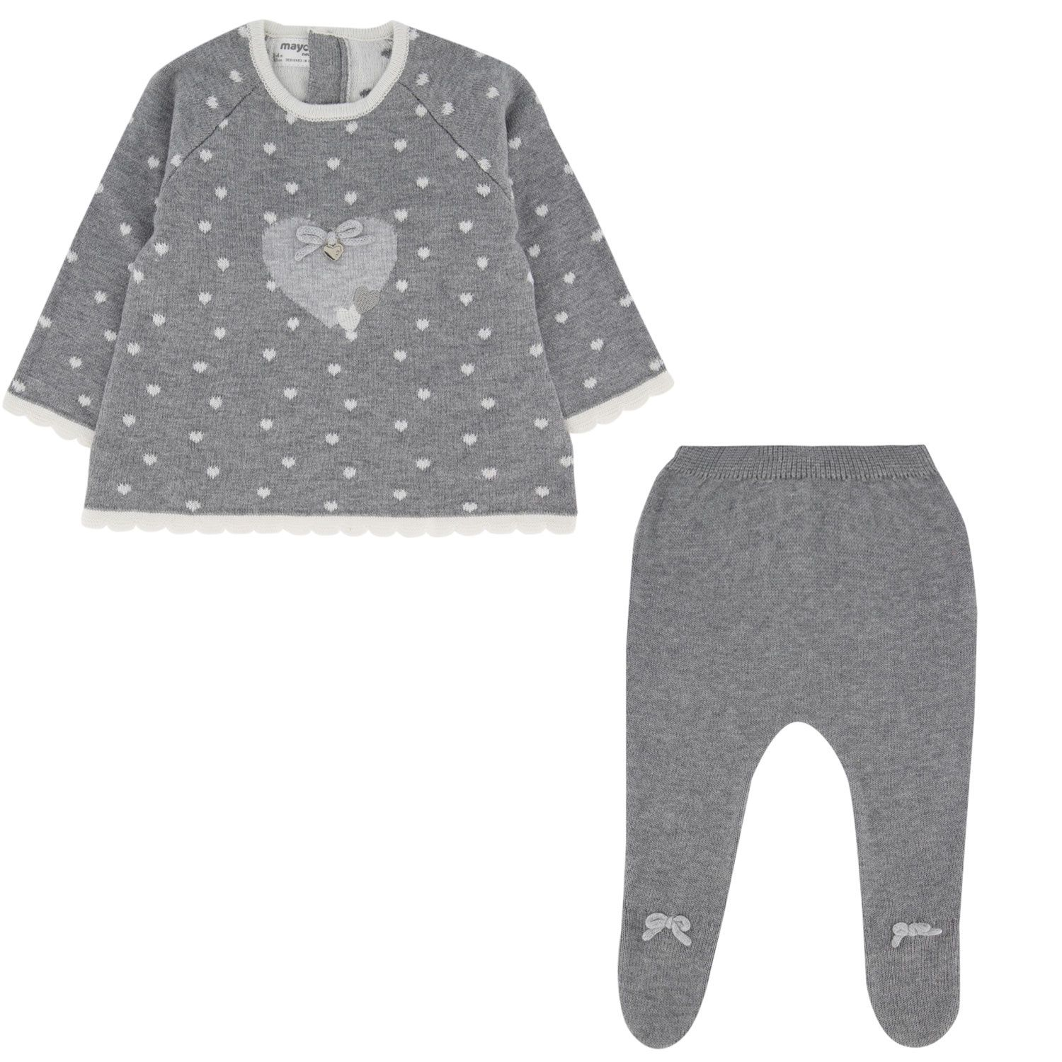 Picture of Mayoral 2547 baby set grey
