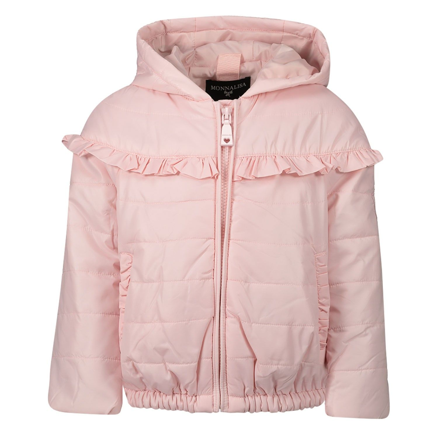 Picture of MonnaLisa 395100 baby coat light pink