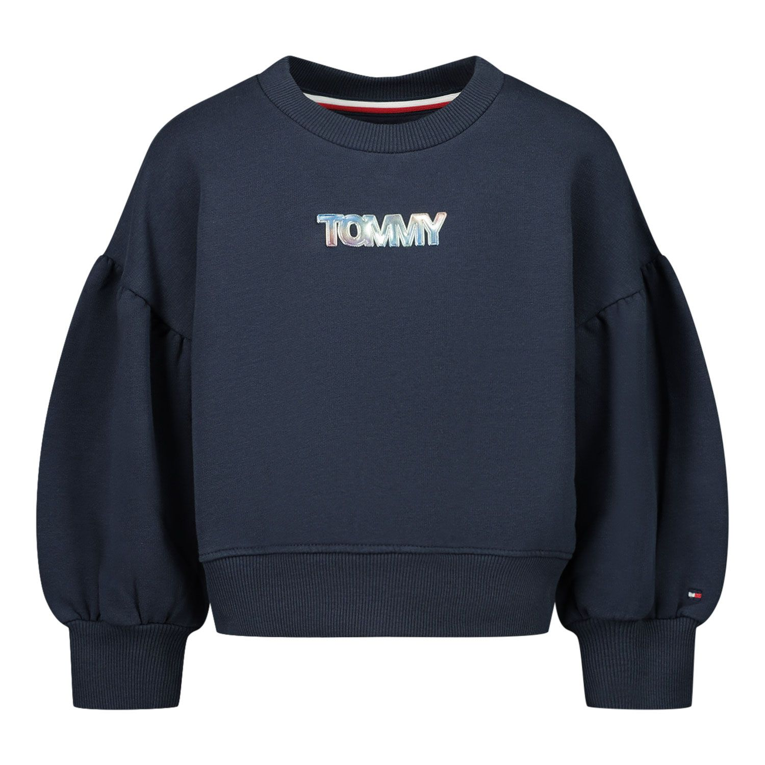 Picture of Tommy Hilfiger KG0KG05493B baby sweater navy