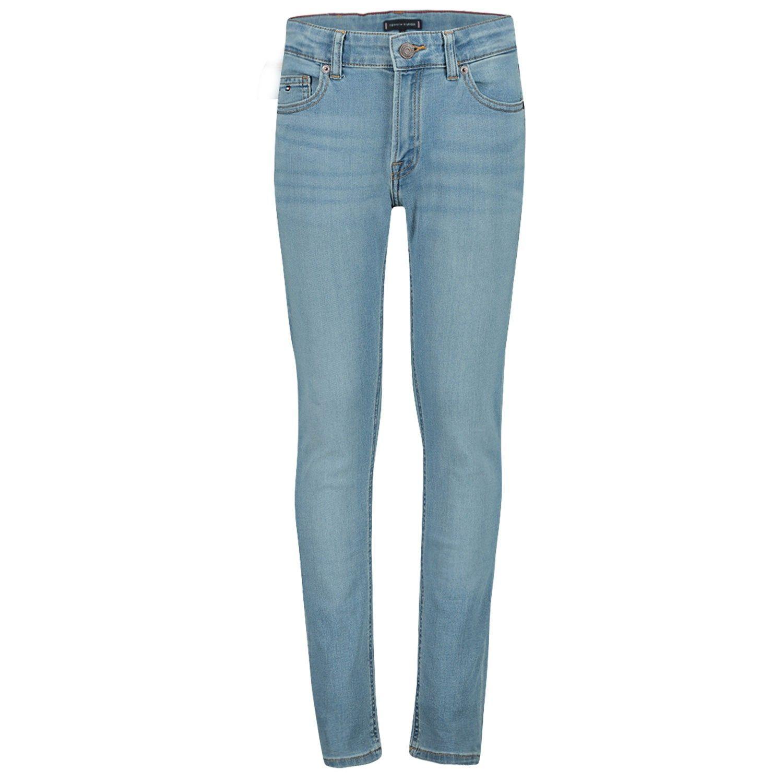 Afbeelding van Tommy Hilfiger KB0KB05380 kinderbroek jeans