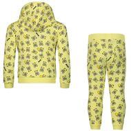 Afbeelding van Moschino M5K00G baby joggingpak geel